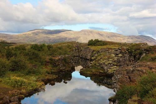 iceland thingvellir landscape
