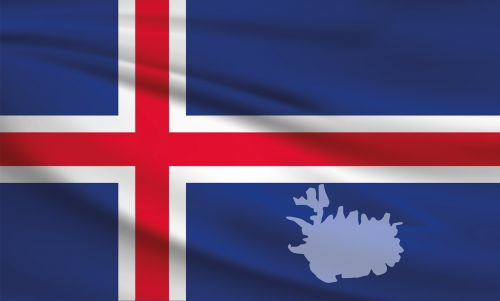 iceland flag banner