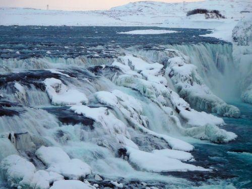 iceland gullfoss river