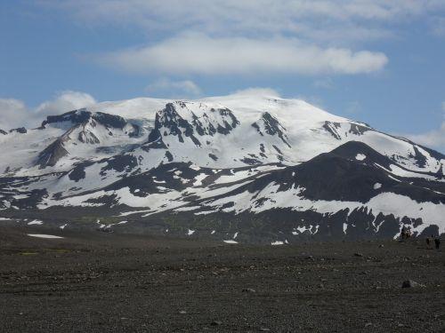 iceland glacier rock