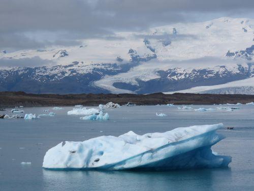iceland glacier lagoon vatnajökull
