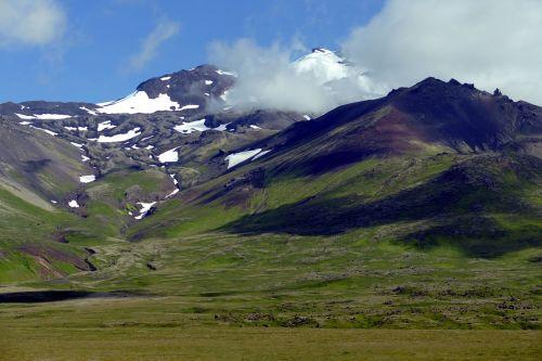 iceland,gamta,Rokas,uolos pakrantė,vulkaninis uolas,vulkaninis,snaefellness,snæfellsnes pusiasalis,vulkanas,ledynas,ledas,aukščiausiojo lygio susitikimas