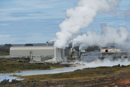 iceland power plant geothermal energy