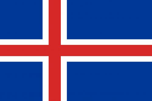 iceland flag national flag