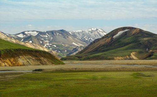 iceland landmanalaugar volcanism