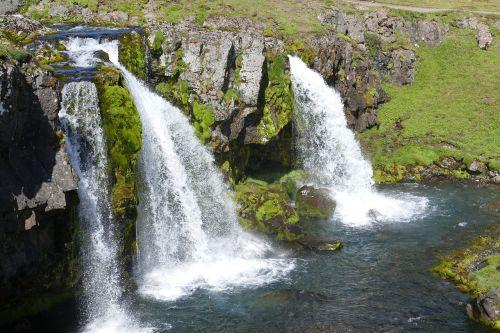 iceland,snaefellness,snæfellsnes pusiasalis,gamta,vulkaninis,kraštovaizdis,panorama,krioklys,kirkjufellsfoss