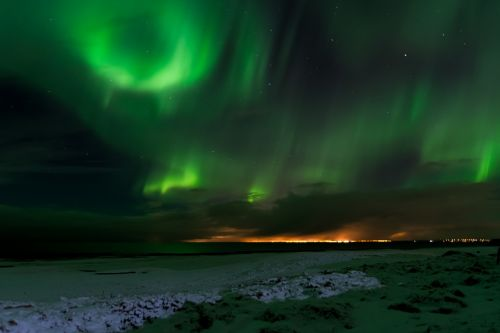 iceland northern lights aurora