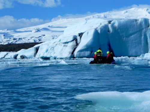 iceland glacier lagoon glacial lake
