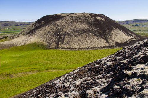 iceland lava extinct volcano