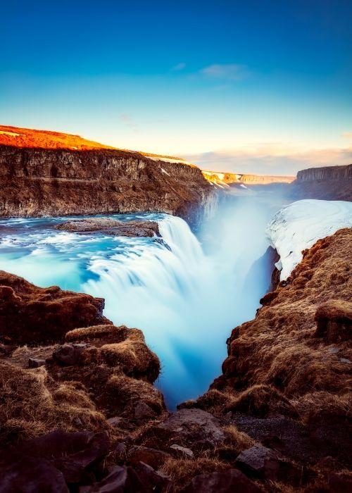iceland,turizmas,krioklys,upė,kalnai,kraštovaizdis,gully,uraganas,gamta,lauke,Šalis,kaimas