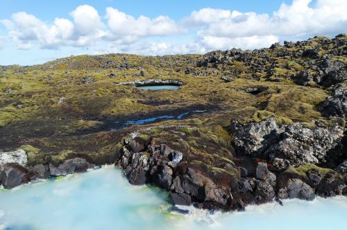 iceland blue lagoon water