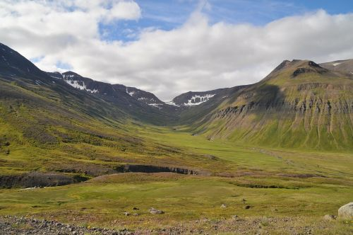 iceland landscape wastes