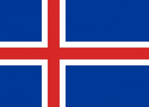 iceland flag symbol