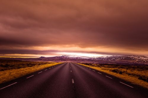 iceland road wide