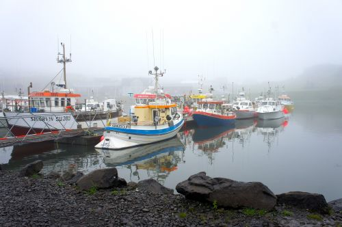 iceland port fishing vessels