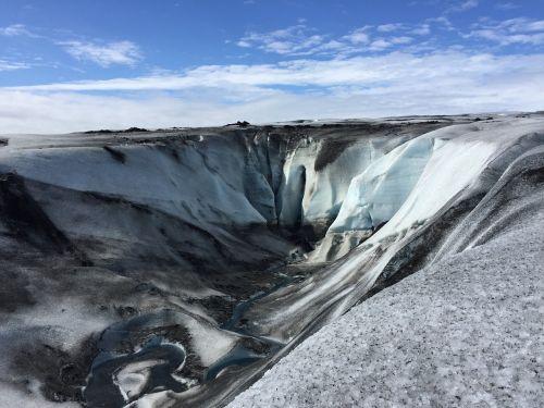 iceland ice glacier