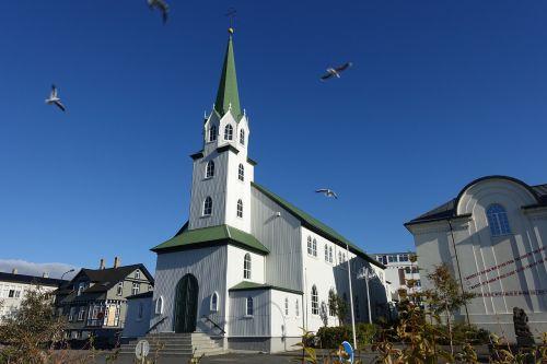 iceland,bažnyčia,Reikjavikas