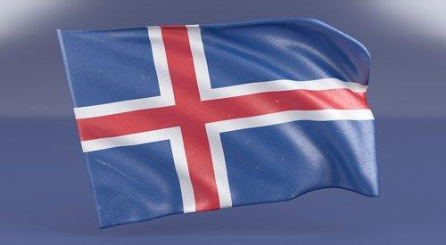 iceland  flag  ice