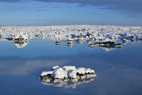 iceland  rocks  blue