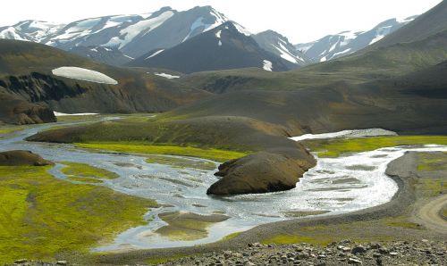 iceland landmannalaugar torrent