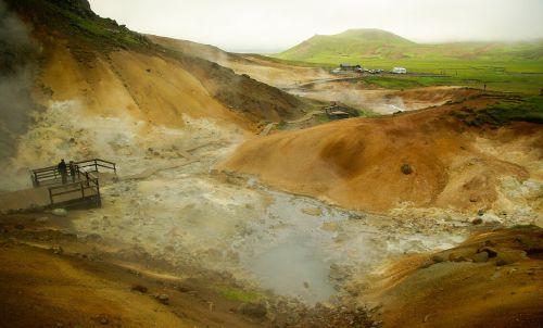 iceland krísuvík volcanism