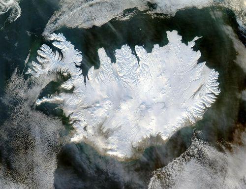 iceland winter polar cap