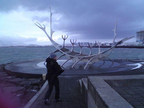 iceland reykjavik outside