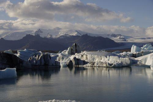 iceland water iceberg