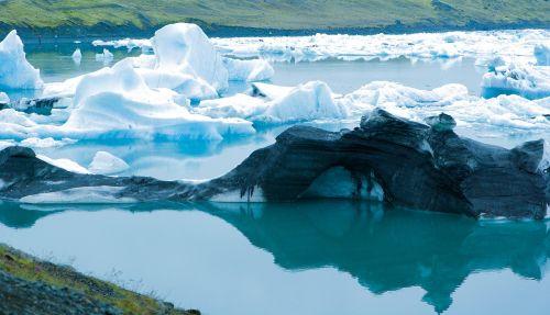 iceland iceberg glacier