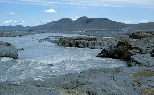 iceland torrent erosion