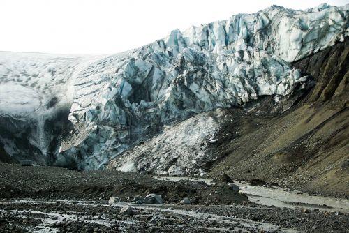 iceland glacier torrent