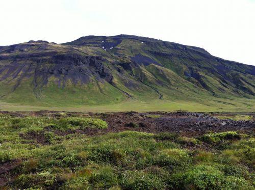 iceland,kalnai,kraštovaizdis