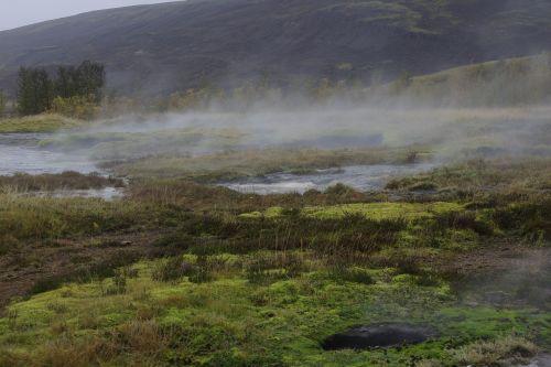 icelandic geyser geothermal
