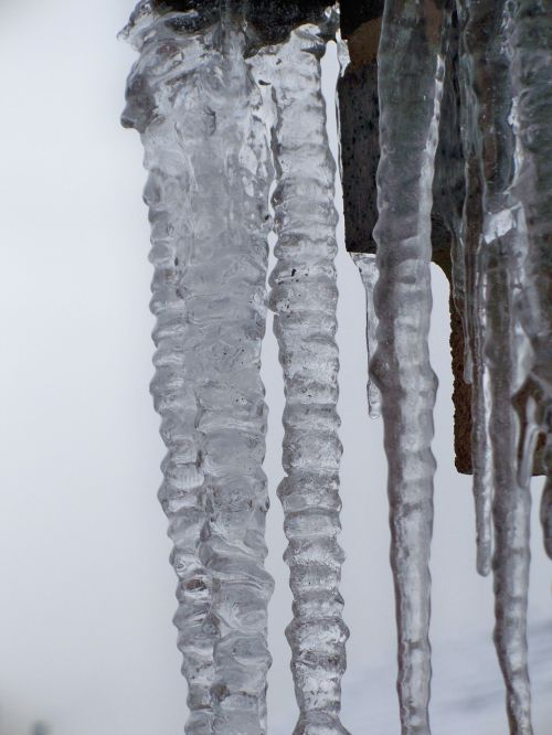 icicles winter ice