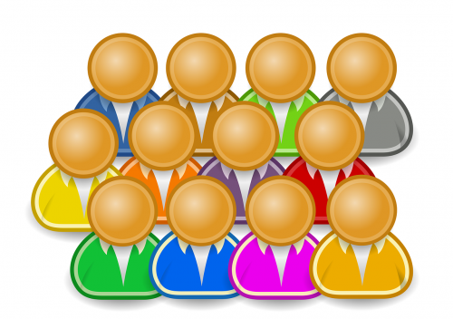 icon person group