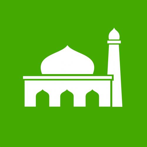 piktograma,Islamas,musulmonas,mečetė,musulmonas,nemokama vektorinė grafika