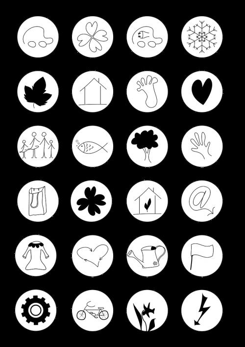 icon icon set button