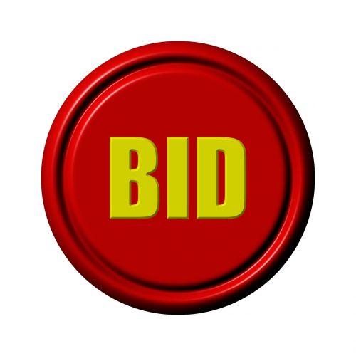 icon button bid