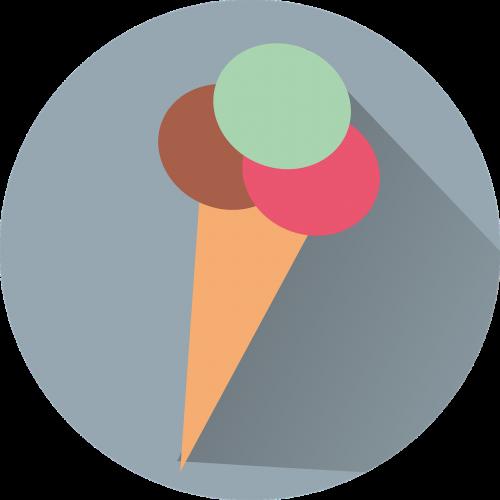icon ice cream ice