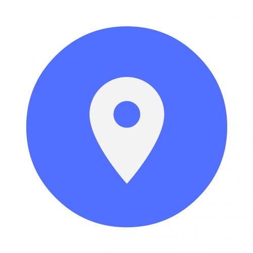 icon location locate