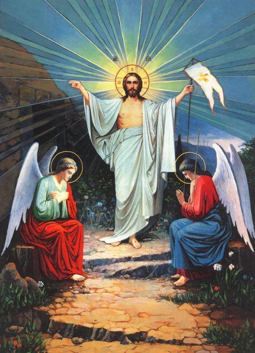 icon resurrection religion