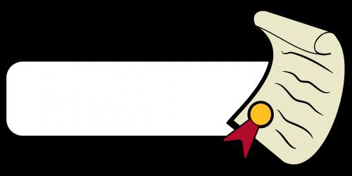 icon poster diploma