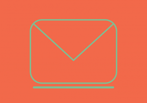 icon email flat
