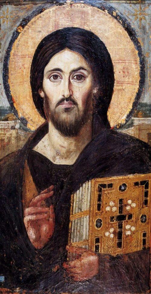 icon jesus byzantine