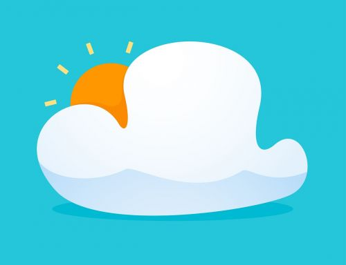 icon cloud design