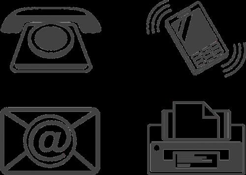 icon communication phone