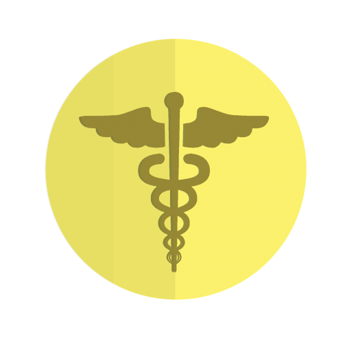 icon healthcare caduceus