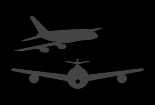 icon  plane  air