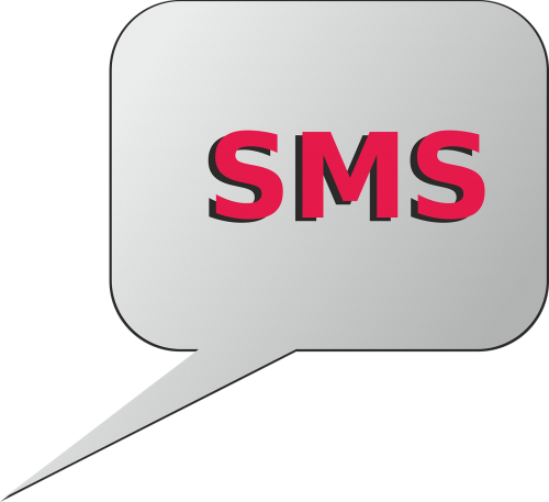 icon sms message