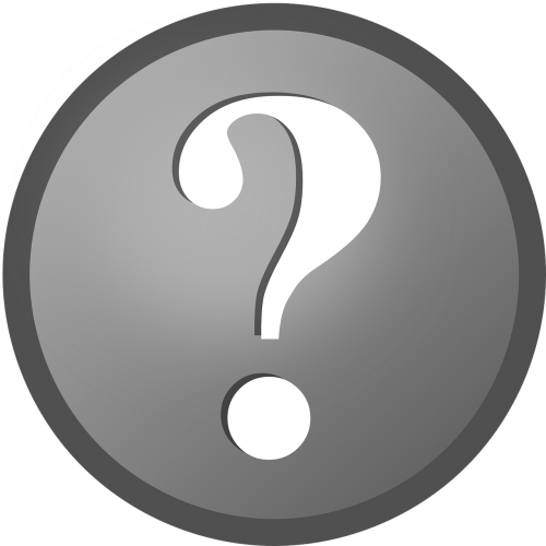 question mark icon symbol